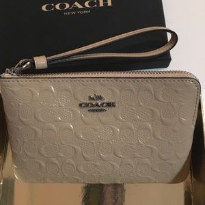 Coach Wristlet with Gift Box